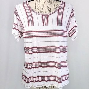 NWOT old navy stripe super soft stretch tee